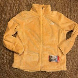 Northface yellow jacket sz XL